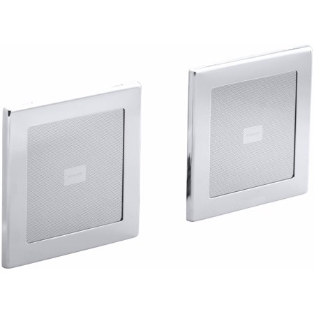 KH K-8033-CP Soundtile Speakers (Pair of Speakers) Polished Chrome Soundtile Speakers (Pair of Speakers) Polished Chrome