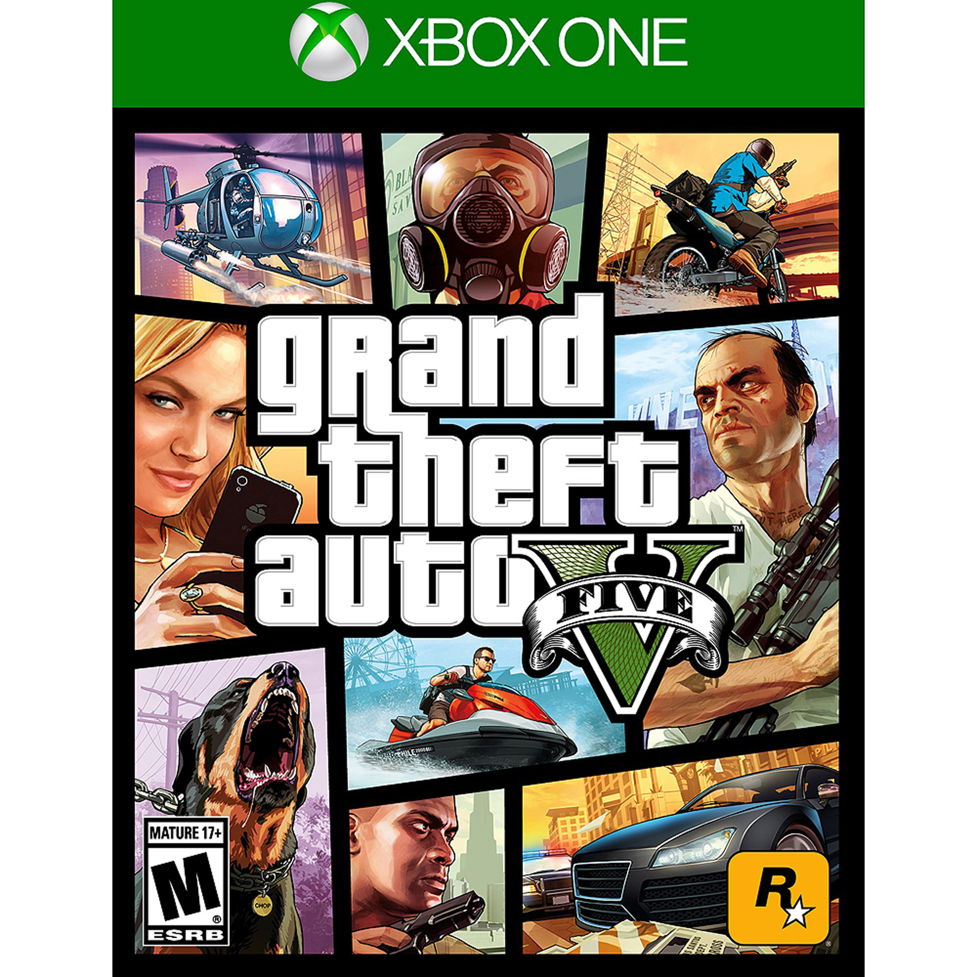 Grand Theft Auto V (Pre-Owned), Rockstar Games, Xbox One, 886162539608