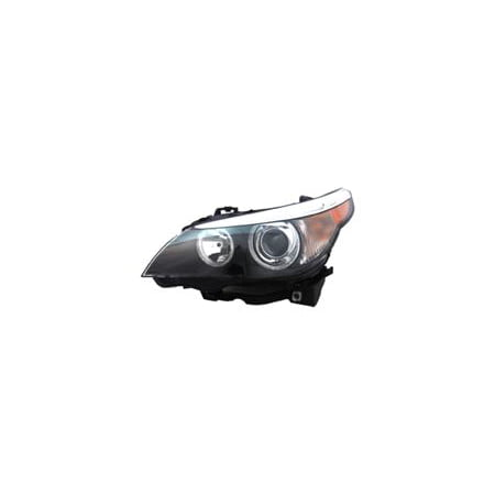 Go-Parts » 2004 - 2007 BMW 525i Front Headlight Headlamp Assembly Front Housing / Lens / Cover - Left (Driver) 63 12 7 160 197 BM2502125 Replacement For BMW 525i Bmw 320i Headlight Assembly