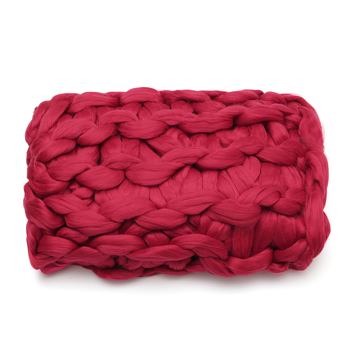 """47""""x59""""/47""""x39.4""""/39.4""""x31.5"""" Soft And Warm Hand Chunky Knit Blanket Thick Yarn Bulky Bed Spread Throw"""