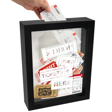 Ticket Holder Decorative Shadow Box - 7x9 Inches