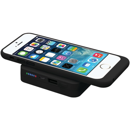 TRIDENT CASE BD-QIPB6K-BKIP5 Apple iPhone 5s Electra Qi Power Base 6000 Bundle