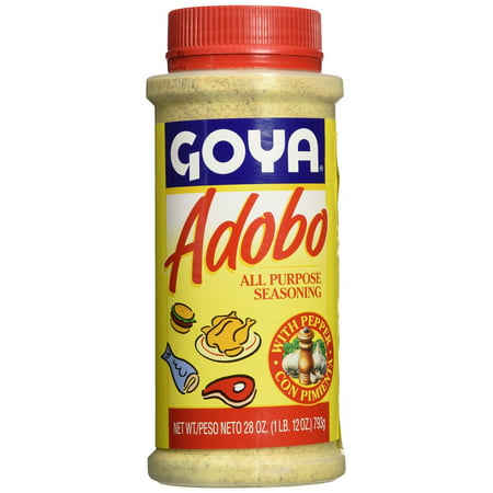 (2 Pack) Goya Adobo with Pepper, 28.0 OZ ()