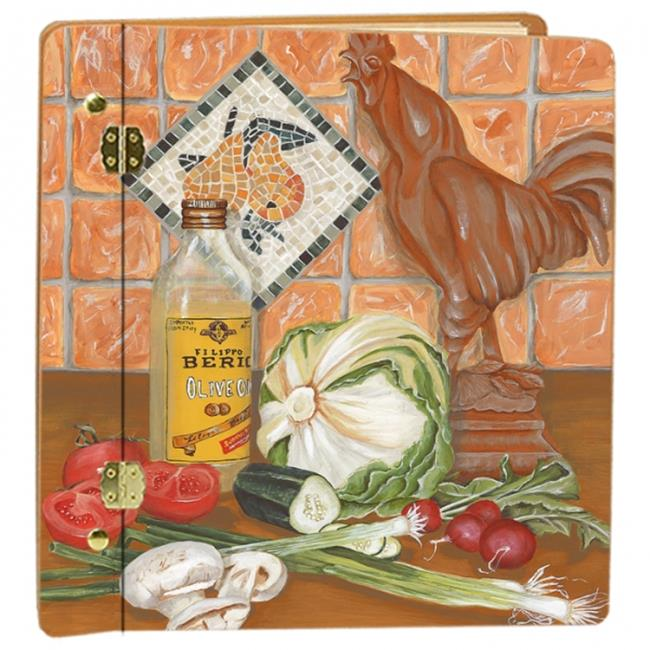 Lexington Studios 12029 Rooster Recipes Large Photo Album by Lexington Studios