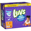 Luvs Super Absorbent Leakguards Diapers, Size 3 (Choose Diaper Count)