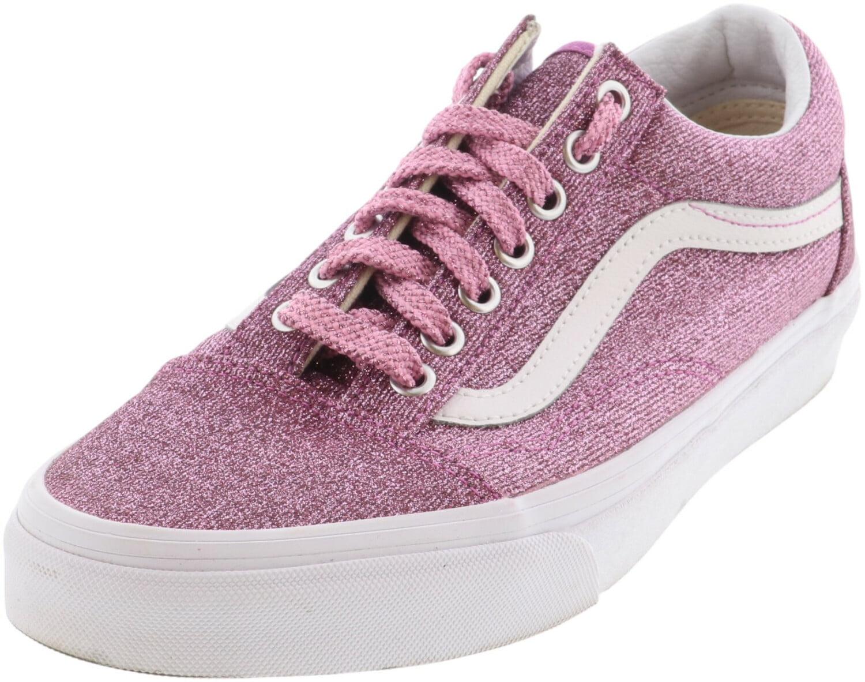 Vans Old Skool Lurex Glitter Pink/True