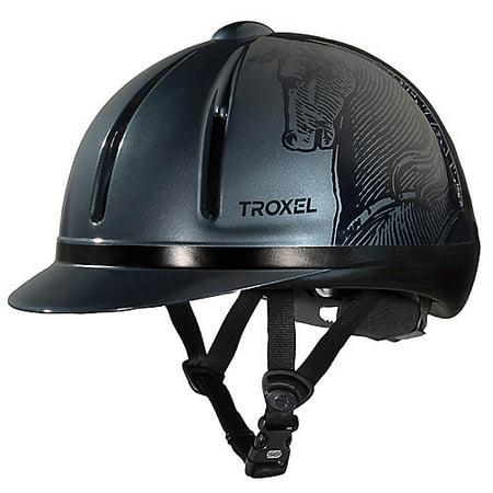 Troxel Legacy Schooling Helmet Small Smoke (Troxel Helmet Size Chart)