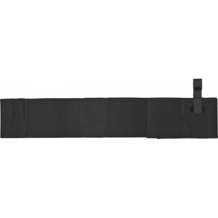 DeSantis Elastic Belly Band Holster - Ambidextrous, Black, Extra Large - Size 44