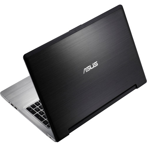 """Asus Black 15.6"""" S56CA-DH51 Laptop PC with Intel Core i5-3317U Processor and Windows 8 Operating System"""