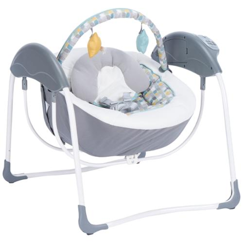 Graco Glider Petite LX Baby/Infant Swing with Mobile Toys, Botany | 1894297