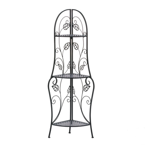 Zingz & Thingz Vines Iron Baker's Rack