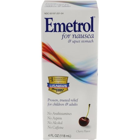 Emetrol Cherry Nausea Liquid  4 Oz