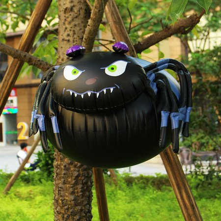Halloween Spider PVC Inflatable Animated Ghost Halloween Party Supplies 65x50x32cm  - image 2 of 9