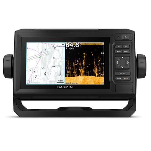 Garmin 010-01890-01 echoMAP Plus 64cv Chartplotter & Fishfinder with CV23M-TM Transducer