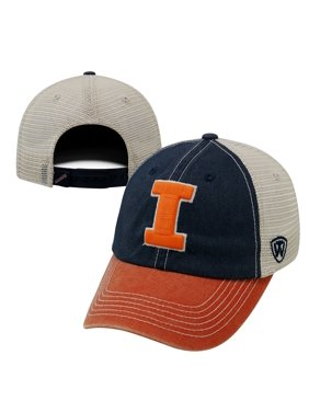 1328b41ccae1ac Product Image top of the world men's illinois fighting blue/white/orange  off road adjustable hat
