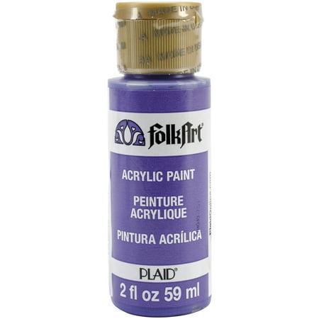 Acrylic White Star (FolkArt Perfect Purple Acrylic Paint, 2 Fl. Oz. )
