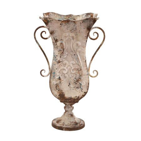 Durable Metal Vase With Antique Magnificence ()