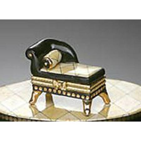 Mud Pie Tuscany Collection 13929 Chaise Treasure - Treasure Box Mud Pie