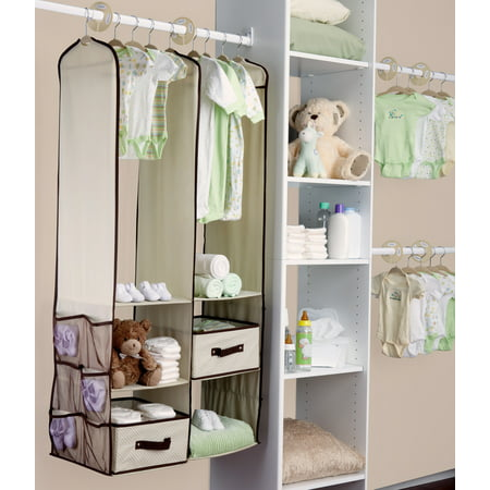 Delta Children 24 Piece Nursery Storage Set Beige
