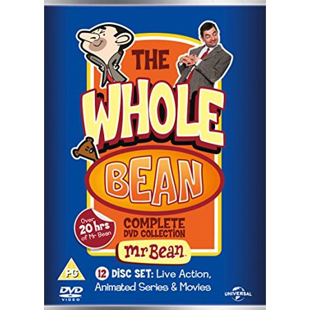 Mr Bean Halloween Movies (Mr. Bean - The Whole Bean (Complete Collection) - 12-DVD Box Set [ NON-USA FORMAT, PAL, Reg.2 Import - United Kingdom)