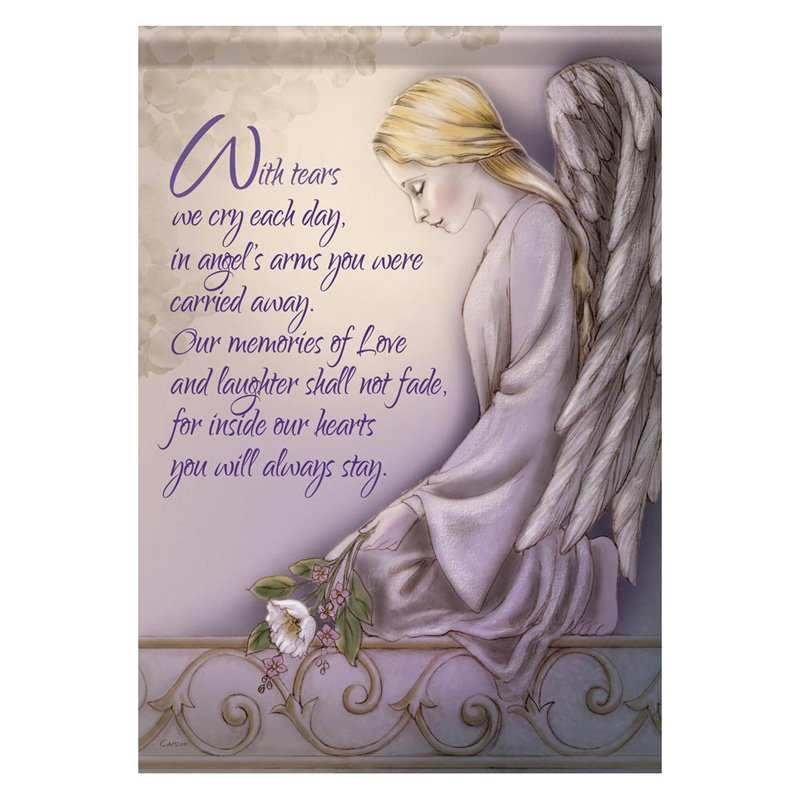 Carson 13 x 18 in. Angels Arms Garden Flag