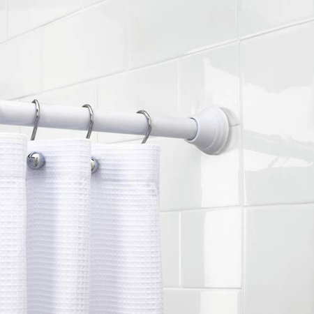 better homes and gardens 72 inch stepped shower curtain tension rod. Black Bedroom Furniture Sets. Home Design Ideas