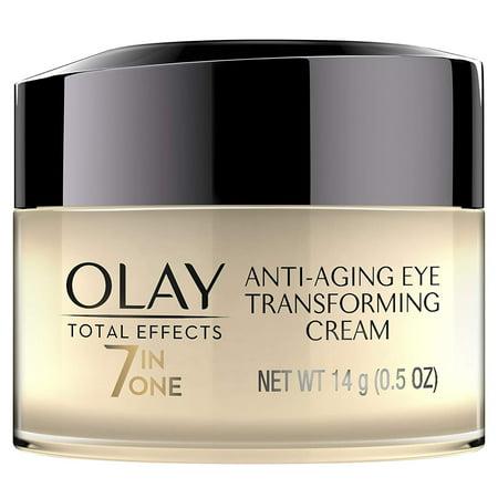 Olay Total Effects 7 in 1 Anti Aging Eye Transforming Cream, 0.5 Oz + Eyebrow