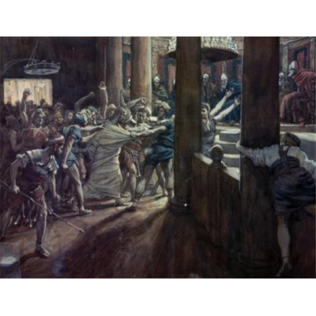 Posterazzi SAL9999243 Jesus Taken Before Annas James Tissot 1836-1902 French Poster Print - 18 x 24 in. - image 1 de 1