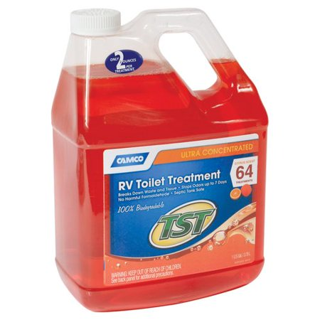 Camco Tst Orange Power Toilet Treatment  1 Gal