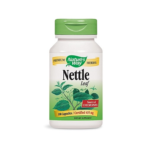 Nature's Way Nettle Leaf Capsules 435mg, 100 Ct