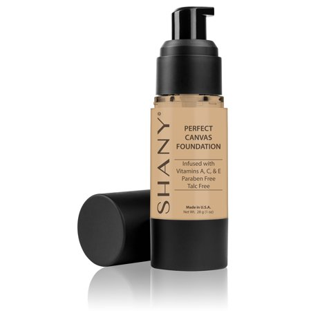 SHANY Perfect Canvas Liquid Foundation - Paraben Free/Talc Free/Oil Free - 30ml - (Era Oil Free Foundation)