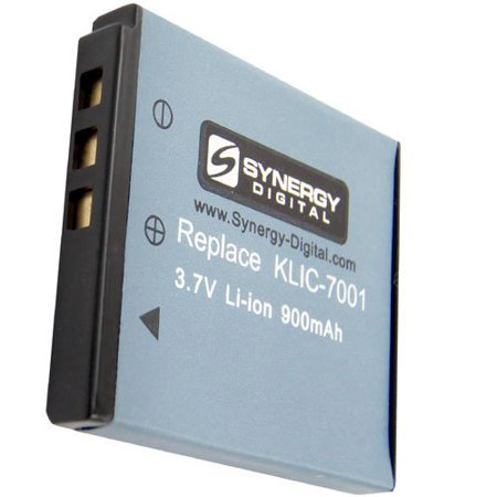 Kodak EasyShare M753 Digital Camera Battery Lithium-Ion (900 mAh) - Replacement for Kodak KLIC-7001 Battery 900 Replacement Camera Battery