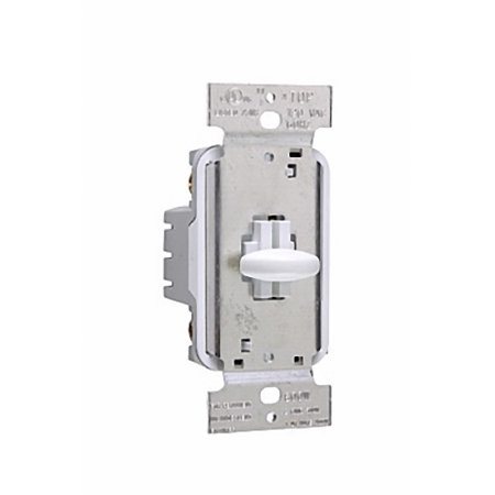Pass & Seymour Ivory Short Slide Dimmer Light Switch 1000W Single Pole SS1000IV