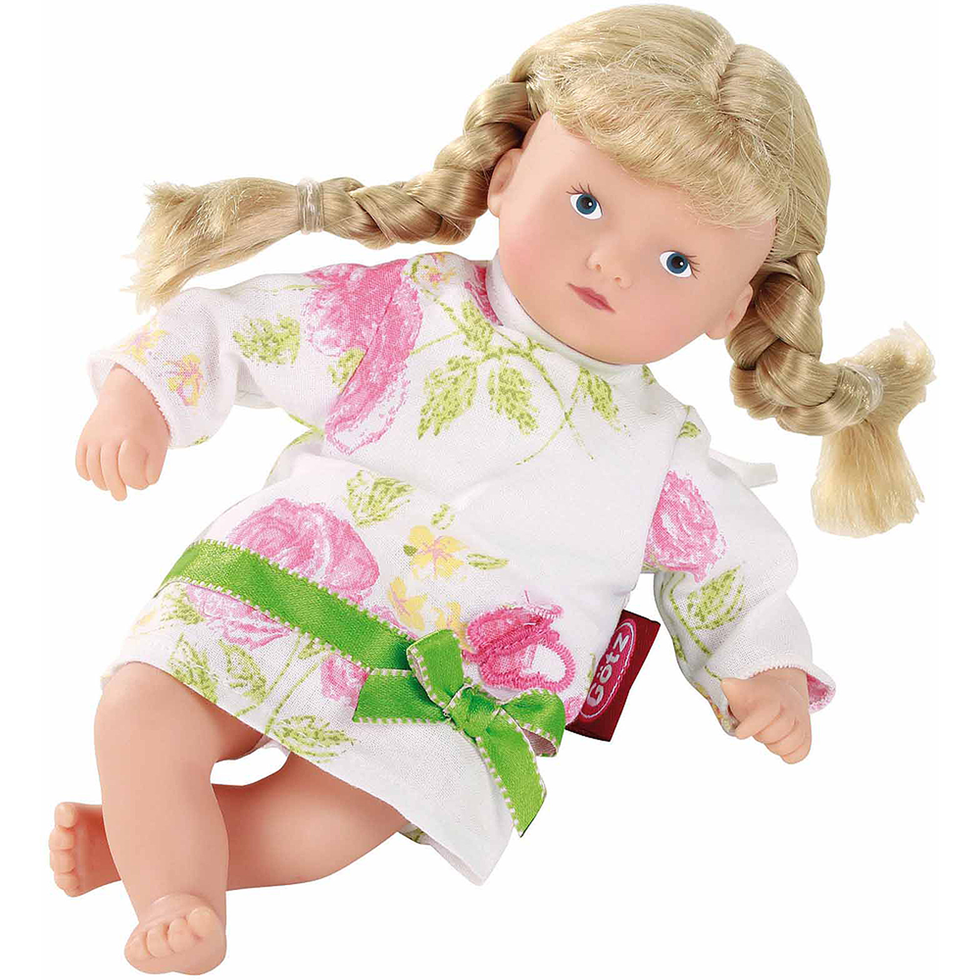 "Gotz Mini Muffin 8"" Doll, Blue Eyes and Blonde Pigtails"