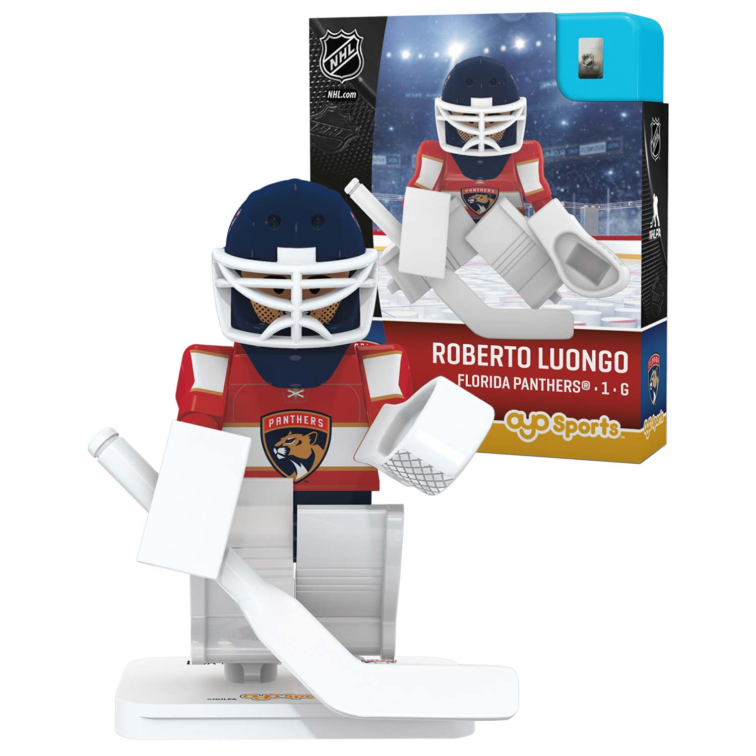 Roberto Luongo Florida Panthers OYO Sports Player Figurine - No Size