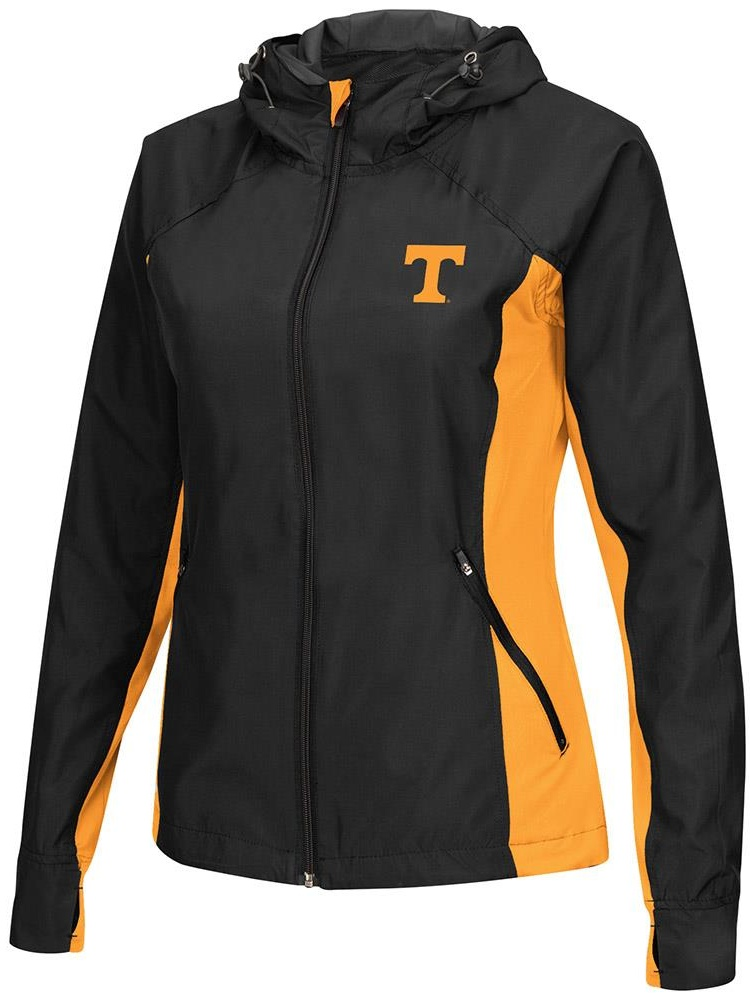 Womens Tennessee Volunteers Step Out Windbreaker Jacket L by Colosseum
