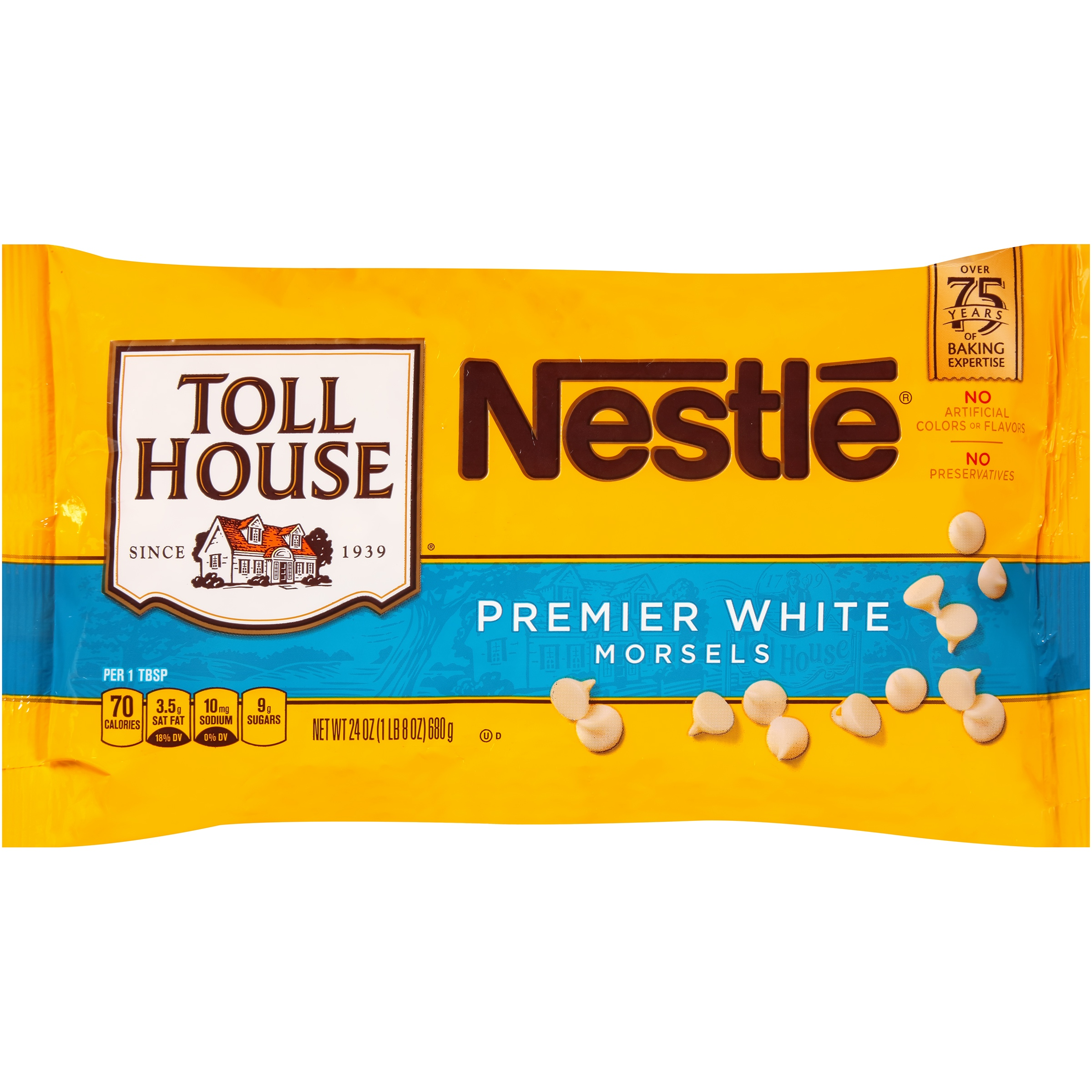Nestlé TOLL HOUSE Premier White Morsels 24 oz. Bag