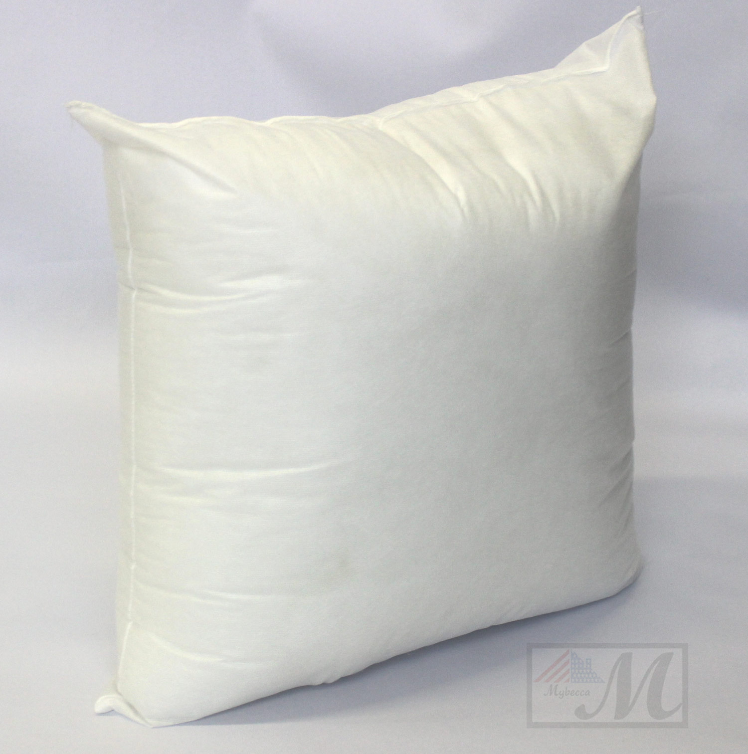 "Mybecca 18"" L X 18"" W Pillow Sham Stuffer White Square Hypoallergenic Pillow Insert (First Quality)"