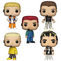 Funko POP! Rocks NSYNC Collectors Set - Justin Timberlake, JC Chasez, Joey Fatone, Lance Bass, Chris Kirkpatrick