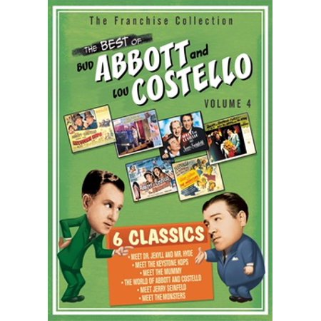 The Best Of Abbott & Costello: Volume 4 (DVD) (Best Of Abbott And Costello)