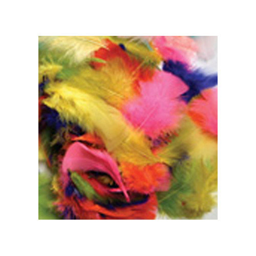 Chenille Kraft Company Feathers Bright Hues (Set of 4)