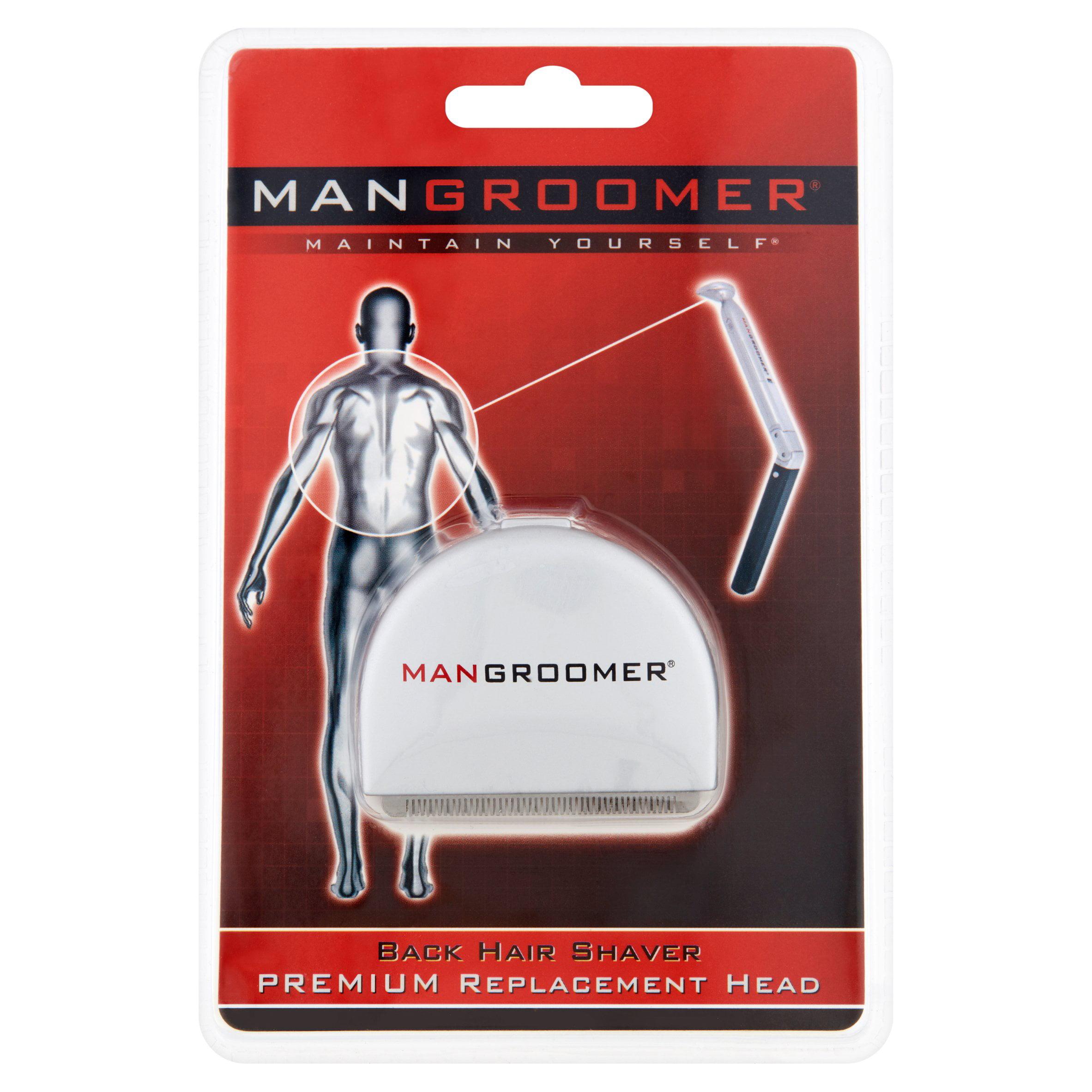 Mangrooomer Maintain Yourself Back Hair Shaver Premium Replacement Head