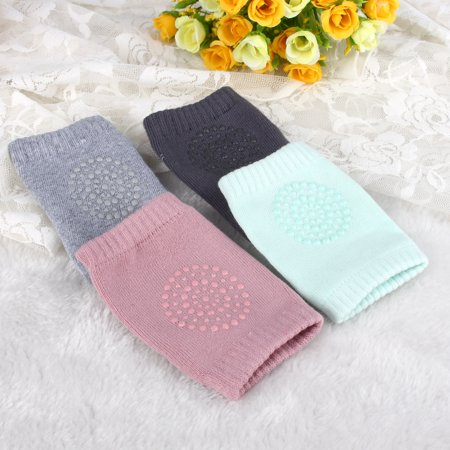 Baby Crawling Anti-slip Knee Pads Breathable Leg warmer Elastic Infant Protect -