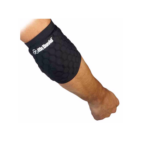 McDavid Classic Logo 6515 CL Hex Knee / Elbow Pads / Pair - Black - Large