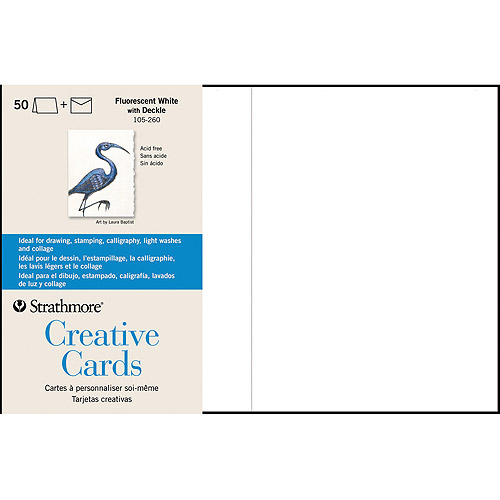 "Strathmore Cards and Envelopes, 5"" x 7"", 50pk"