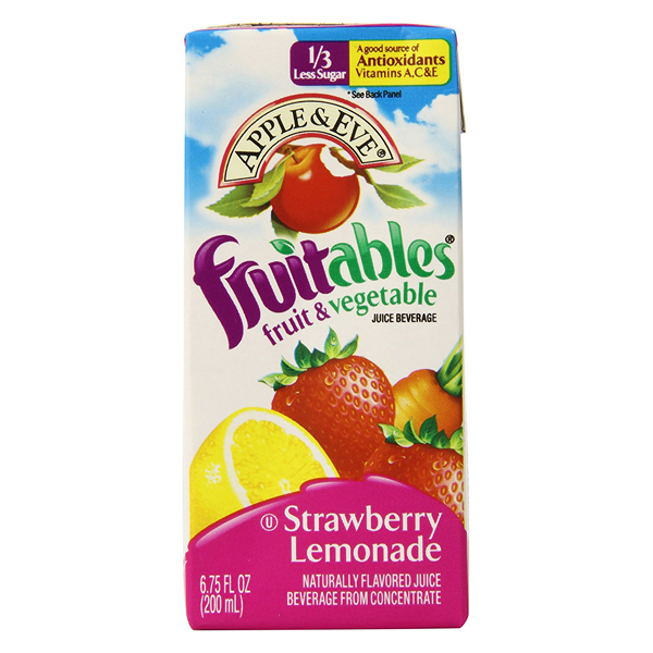 Apple & Eve Fruitables Strawberry Lemonade Fruits & Veget...