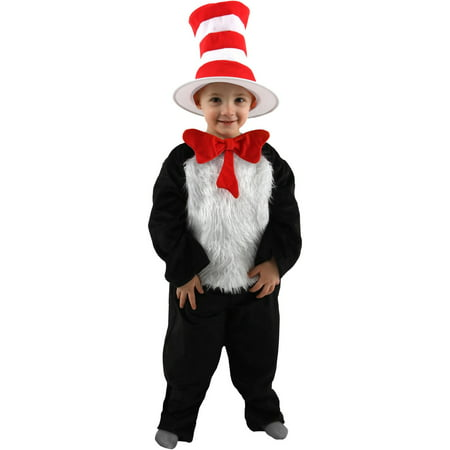 Toddler Deluxe Dr Seuss Cat In The Hat C