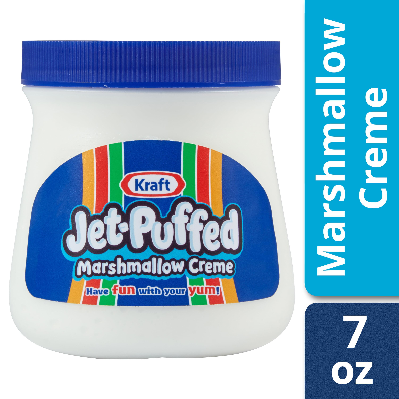 (5 Pack) Jet-Puffed Marshmallow Creme, 7 oz Jar