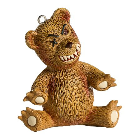 HorrorNaments Teddy Bear Halloween Christmas Tree Ornament Decoration