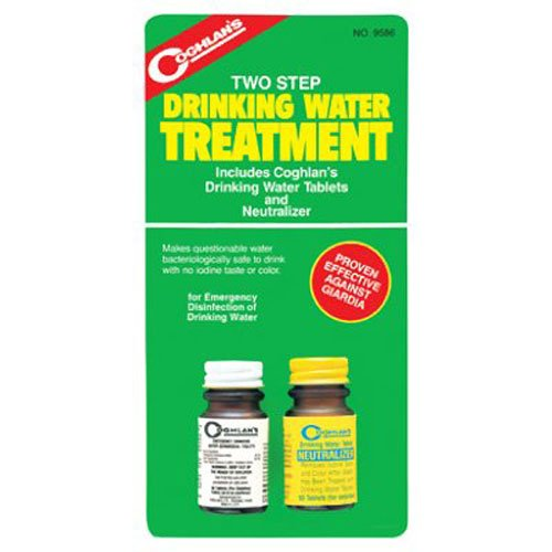 Drinking Water Treatment, Two Step, Water 9586 50Count Purification Tablets Germicidal Drinking Filtered Step Two BLUI60... by